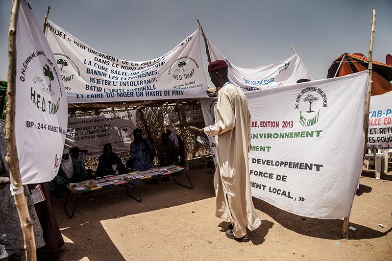 Ce rassemblement est l'occasion de sensibiliser sur la paix dans une région souvent frappée par la violence au cours de ces dernières années.