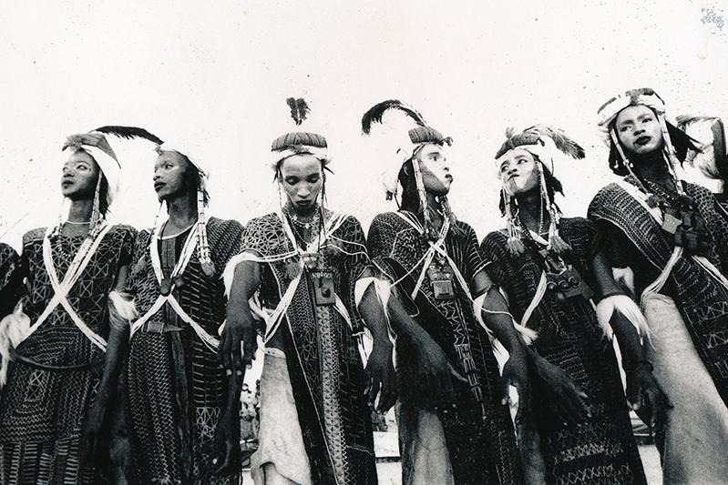Danse des Peuls Woodabe. Ingall, Niger. 2013.