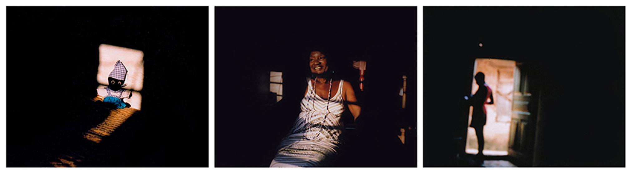 Cette poupée de Yemaya accompagne Tomasa Hernandez depuis quelques années. Cubaine, descendante d'esclaves yoruba, cette fille de Yemaya soutient que, dans l'enfer des plantations, la préservation de leur spiritualité est ce qui a aidé les Africains mis en esclavage à « sauvegarder leur humanité ». La Havane, Cuba, avril 2019. © Laeïla Adjovi // «Las raises de nosotros estan ahi». (« Nos racines sont là-bas ») dit Tomasa. Le collier de perles de sa mère est un de ses objets préférés. Chaque orisha a ses perles rituelles et ses couleurs – le bleu et le blanc de Yemaya se retrouve aussi de l'autre côté, au Bénin et au Nigéria. La Havane, Cuba, avril 2019. © Laeïla Adjovi // « Dans la spiritualité yoruba, avoir un bon caractère est crucial. 'Iwapele' est un concept très important» détaille Omitonade Ifawemimo, prêtresse de Yemoja au Nigéria. 'Iwa' signifie caratère, et 'pele' veut dire 'doux'. «Ma religion n'est pas parfaite», et parmi les pratiquants, «il y a les bons et les mauvais », admet Omitonade. Mais elle refuse que sa foi soit réduite à de la sorcellerie, et continue de revendiquer sa part de lumière. Ibadan, Nigéria, novembre 2018. © Laeïla Adjovi
